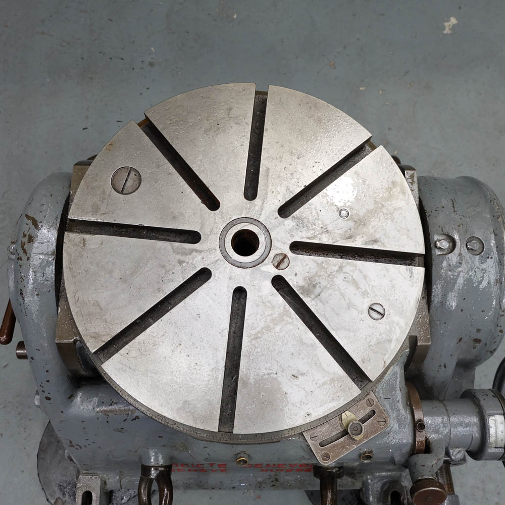 SIP TYPE PI-5B TILTING ROTARY TABLE